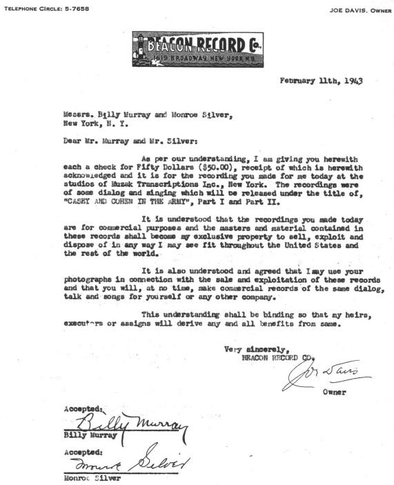Beacon contract